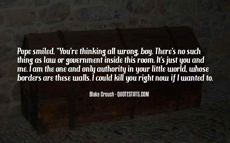 No One In The World Quotes #33067