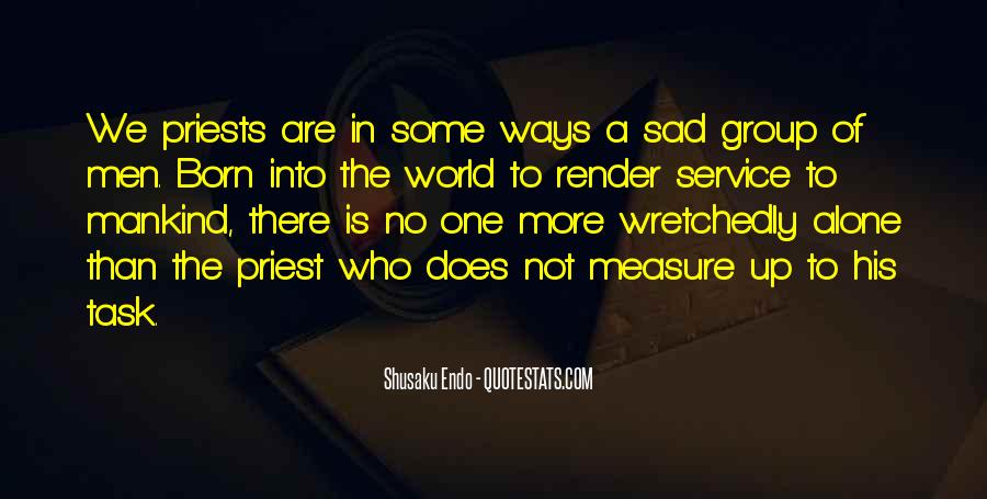No One In The World Quotes #80434