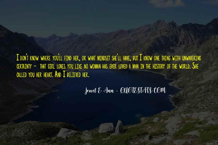 No One In The World Quotes #8874