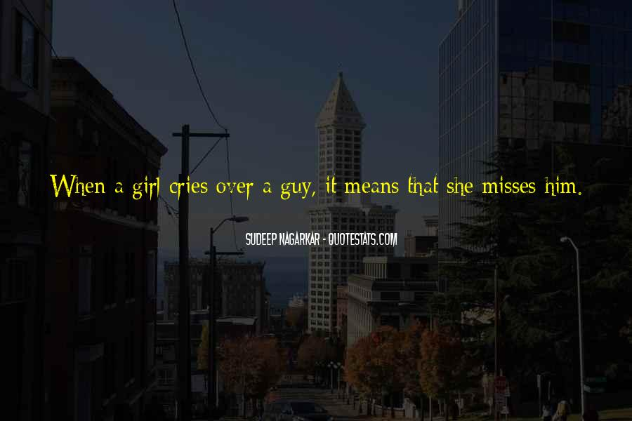 No One Misses Me Quotes #122509