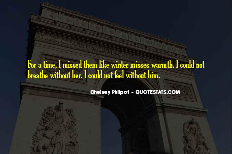 No One Misses Me Quotes #173879