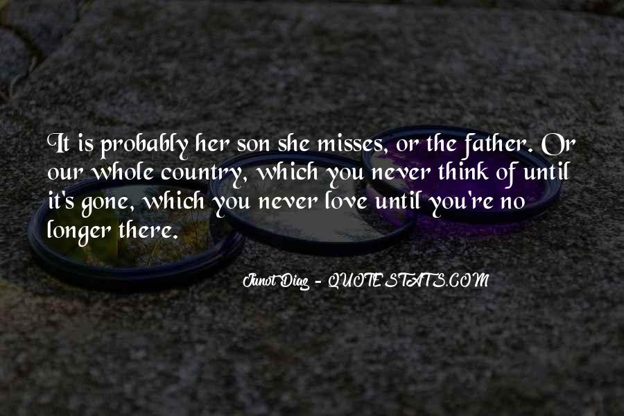 No One Misses Me Quotes #84640