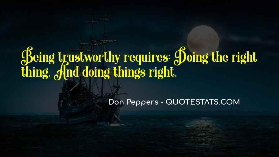 No One Trustworthy Quotes #147288