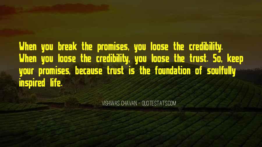 No One Trustworthy Quotes #19138
