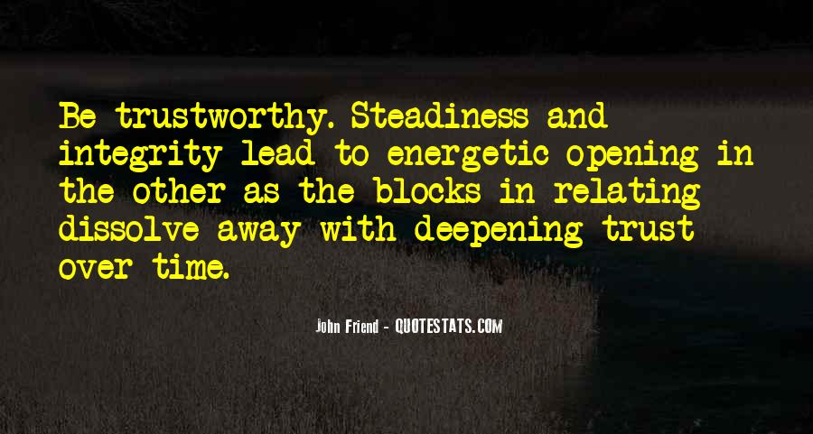No One Trustworthy Quotes #221448