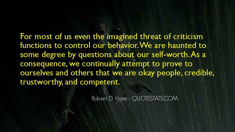 No One Trustworthy Quotes #234876