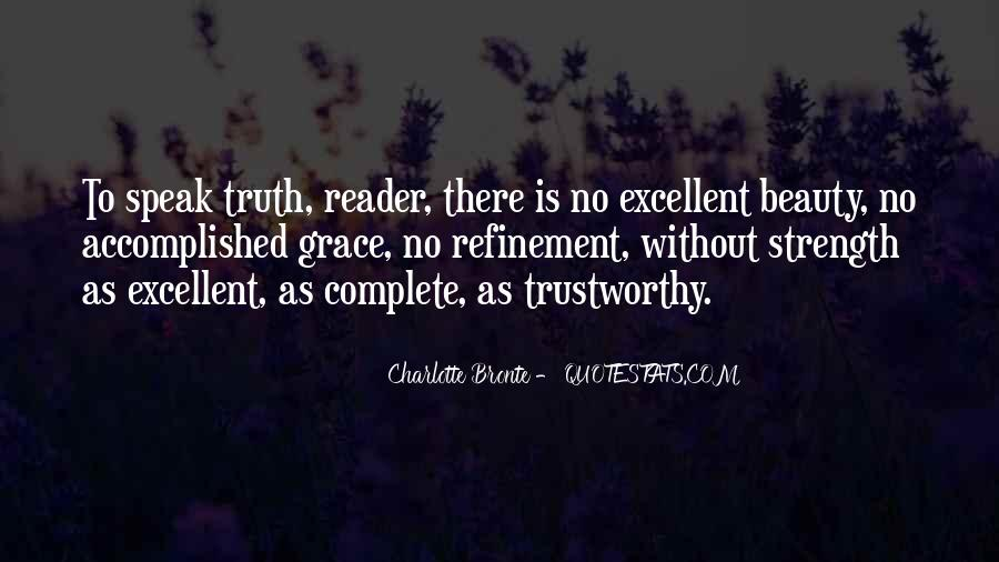 No One Trustworthy Quotes #30991