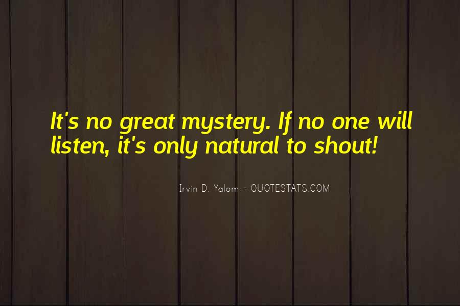 No One Will Listen Quotes #55005