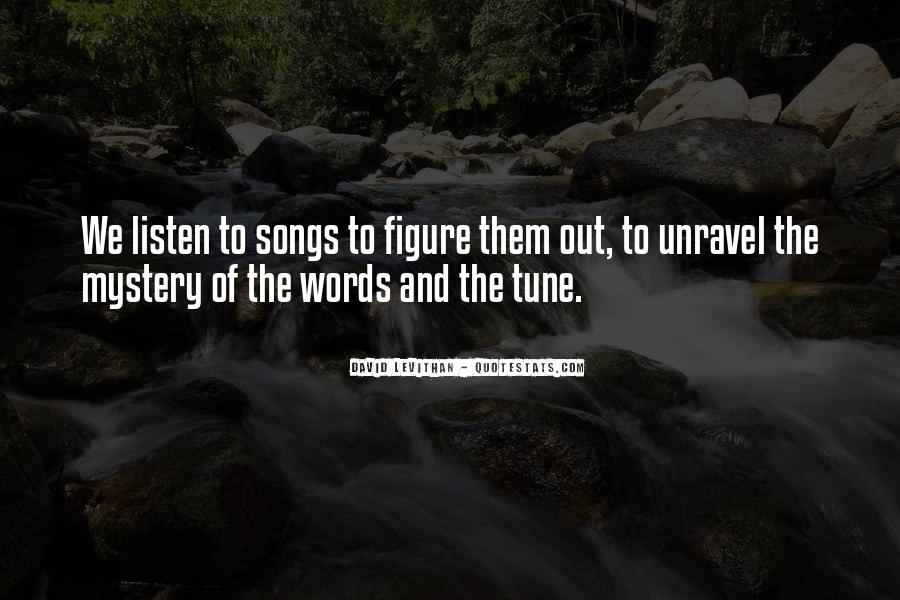 No One Will Listen Quotes #5938