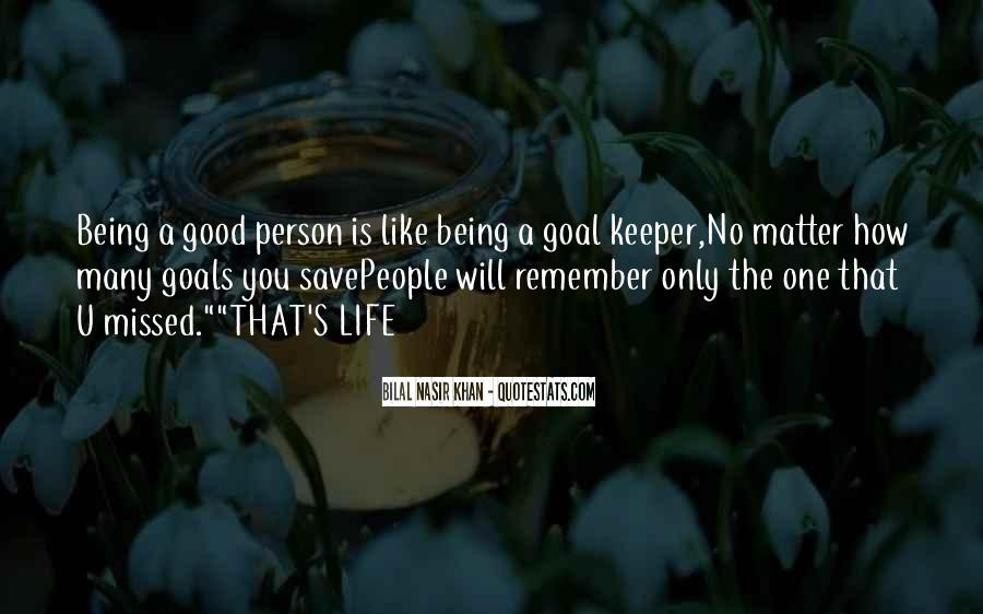 No One Will Remember You Quotes #1021215