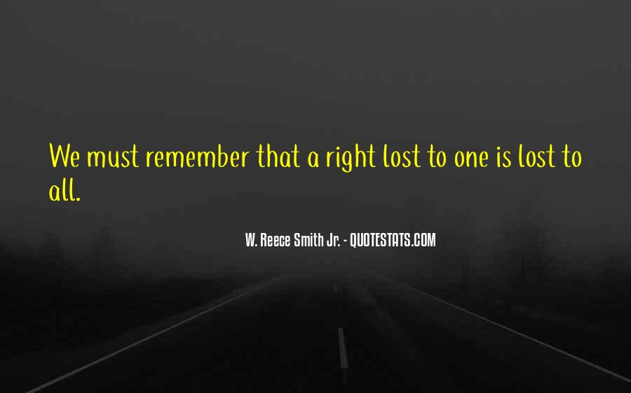 No One Will Remember You Quotes #1894