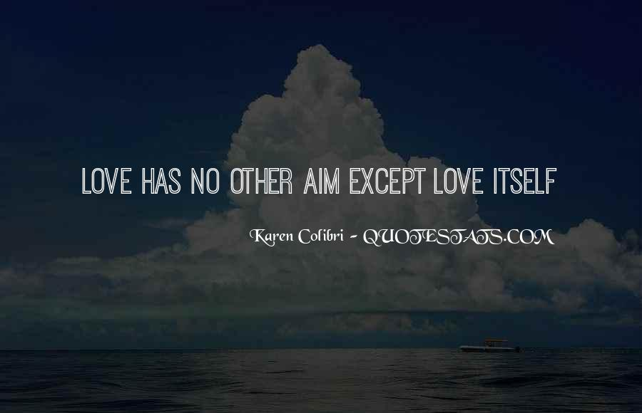 No Other Love Quotes #292124