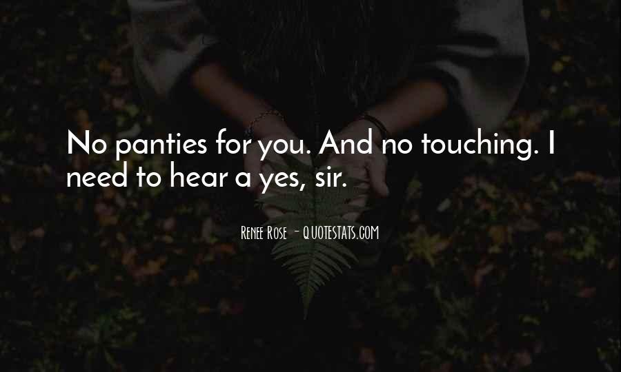 No Panties Quotes #1059240