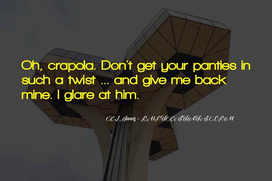 No Panties Quotes #111041