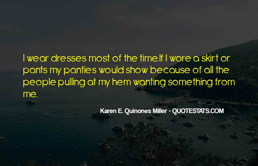 No Panties Quotes #255367