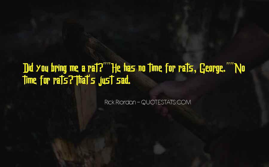No Rats Quotes #1062412