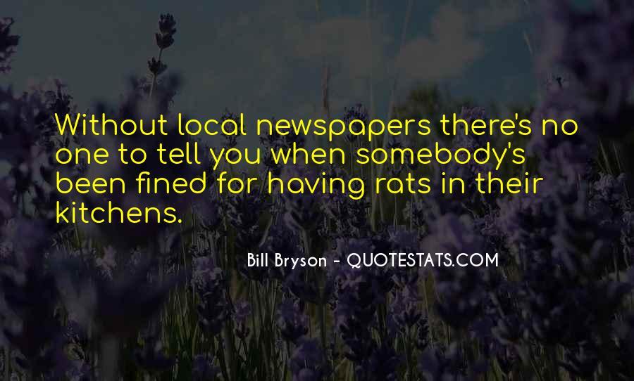 No Rats Quotes #134258