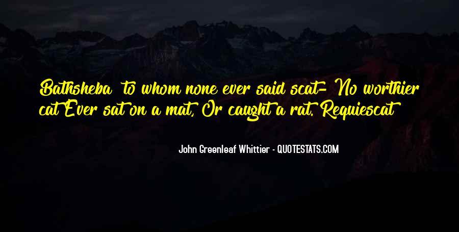 No Rats Quotes #1493934