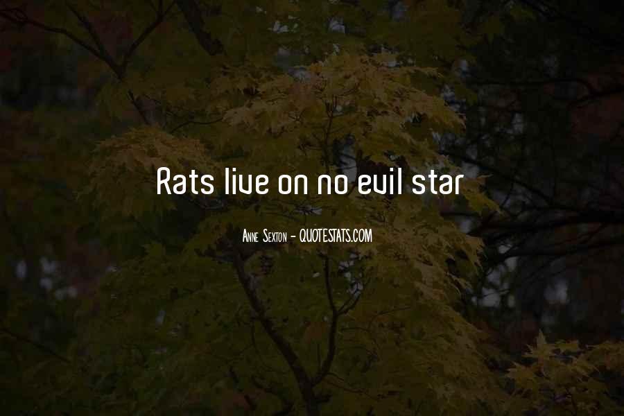 No Rats Quotes #1765353
