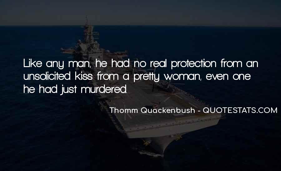 No Real Man Quotes #1205068