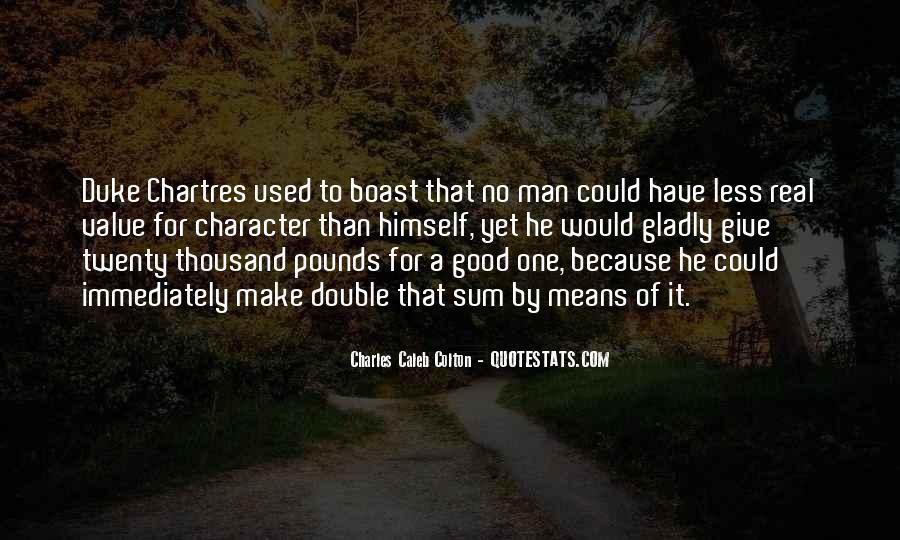 No Real Man Quotes #1352196