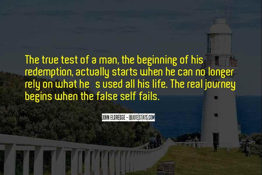 No Real Man Quotes #355219
