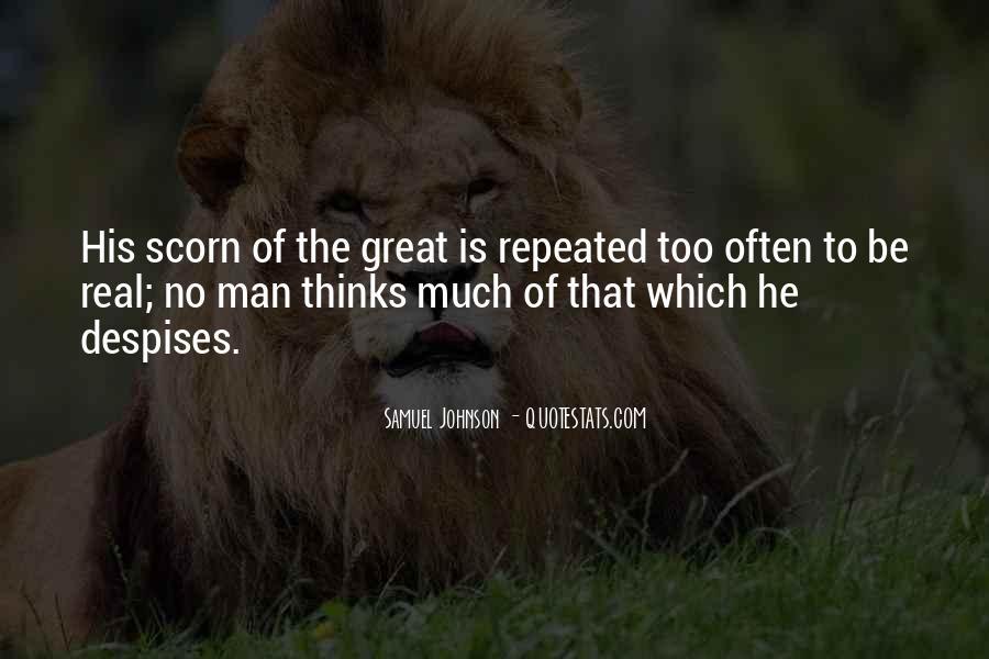 No Real Man Quotes #411620