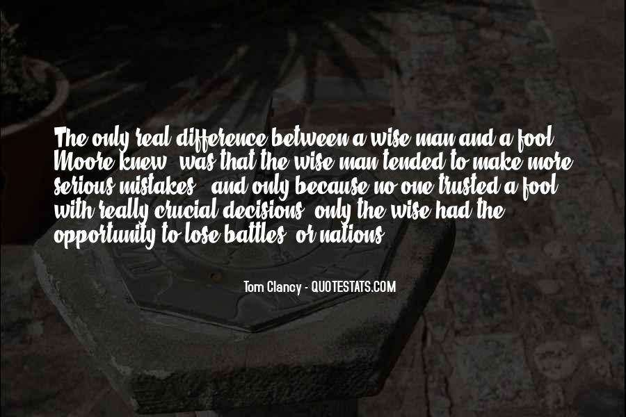 No Real Man Quotes #555938