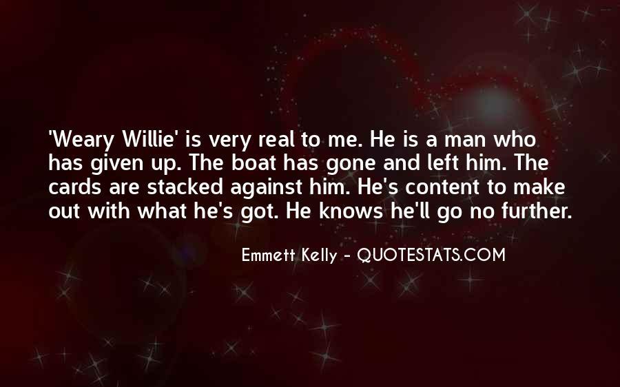 No Real Man Quotes #646878