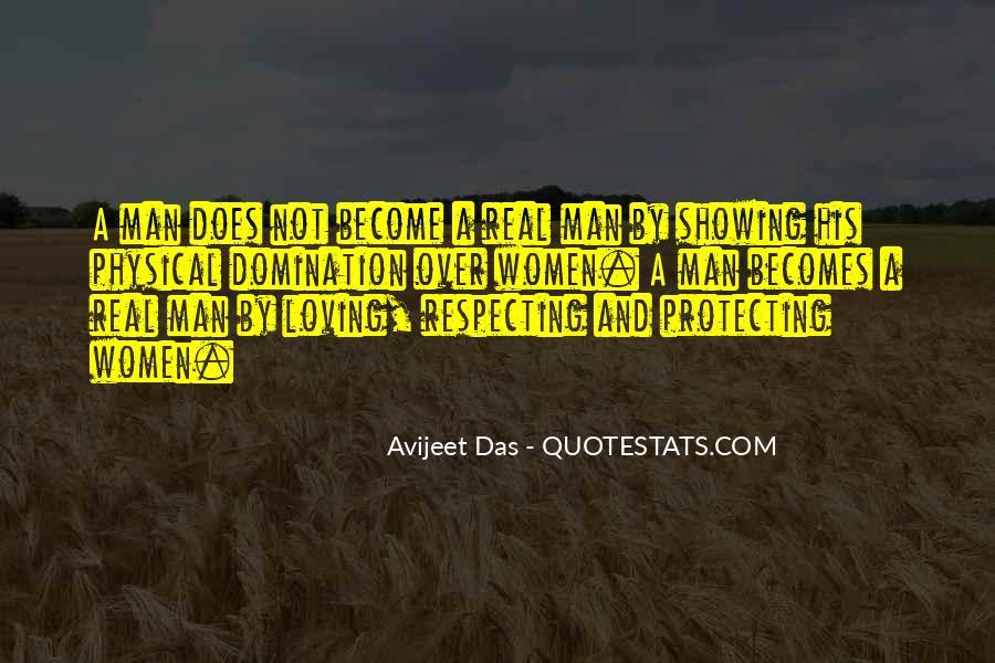 No Real Man Quotes #713081