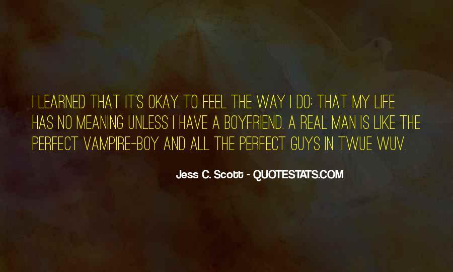 No Real Man Quotes #872479
