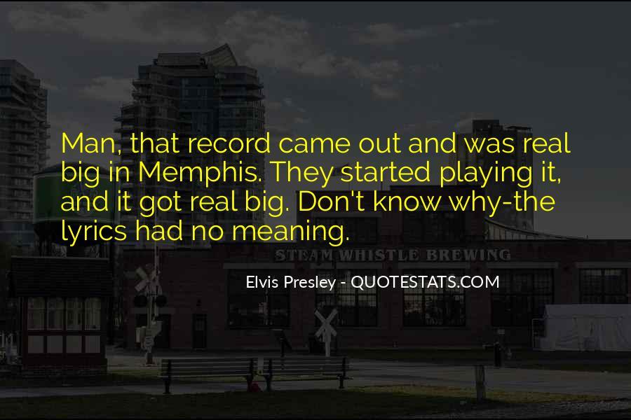 No Real Man Quotes #975149
