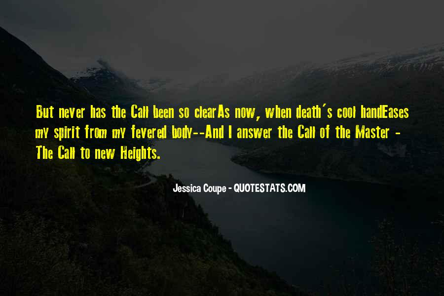 Quotes About Callings #1062922