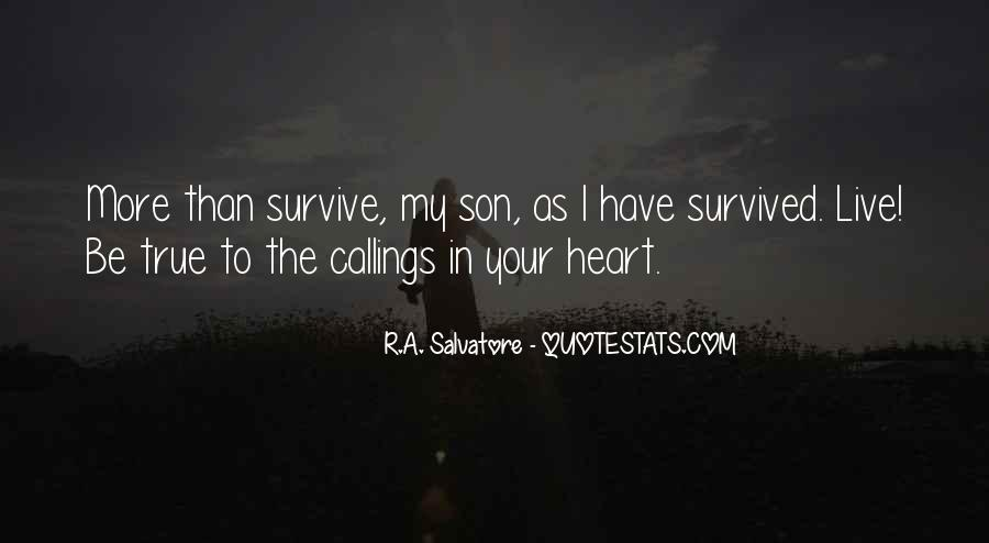 Quotes About Callings #1353011