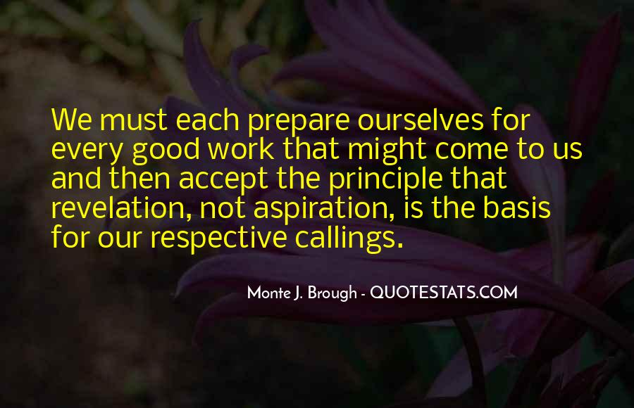 Quotes About Callings #326430