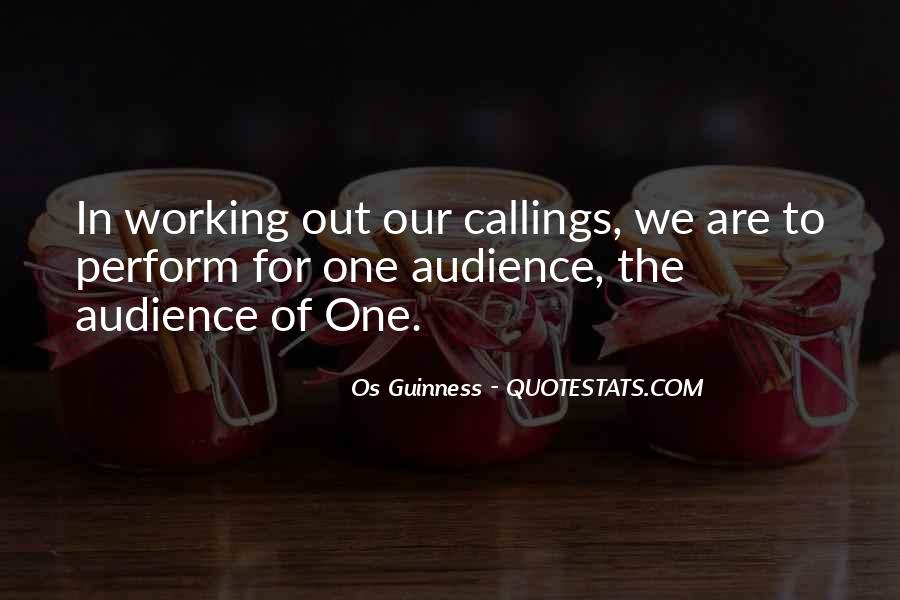 Quotes About Callings #462779