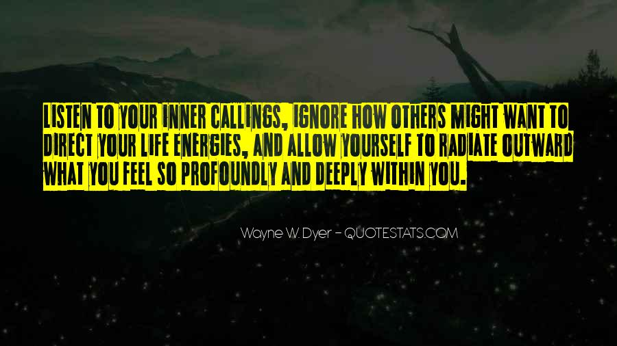 Quotes About Callings #736282