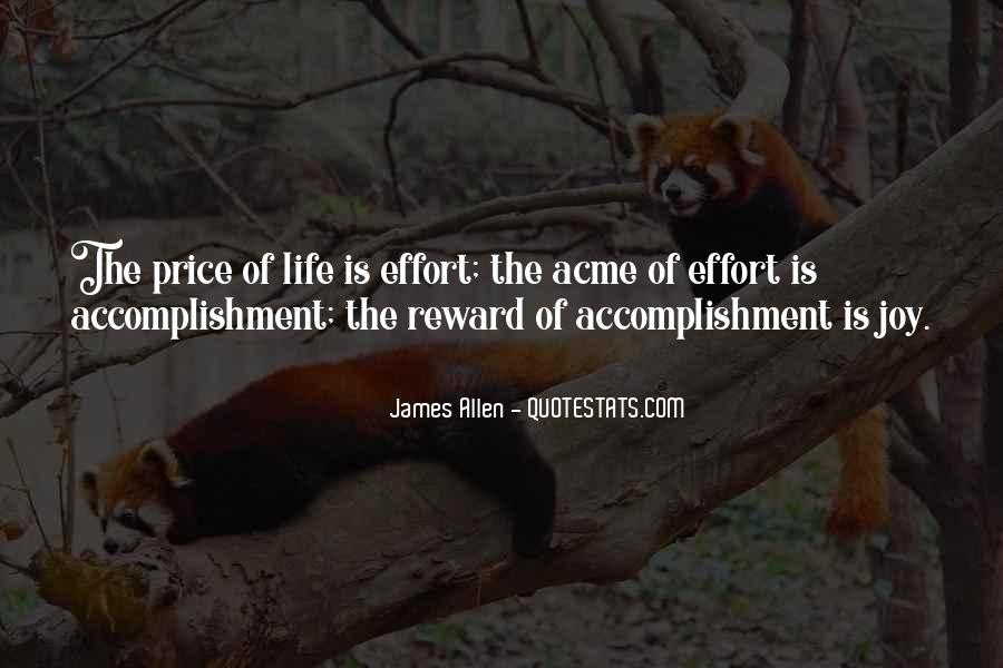 No Reward Without Effort Quotes #1324869