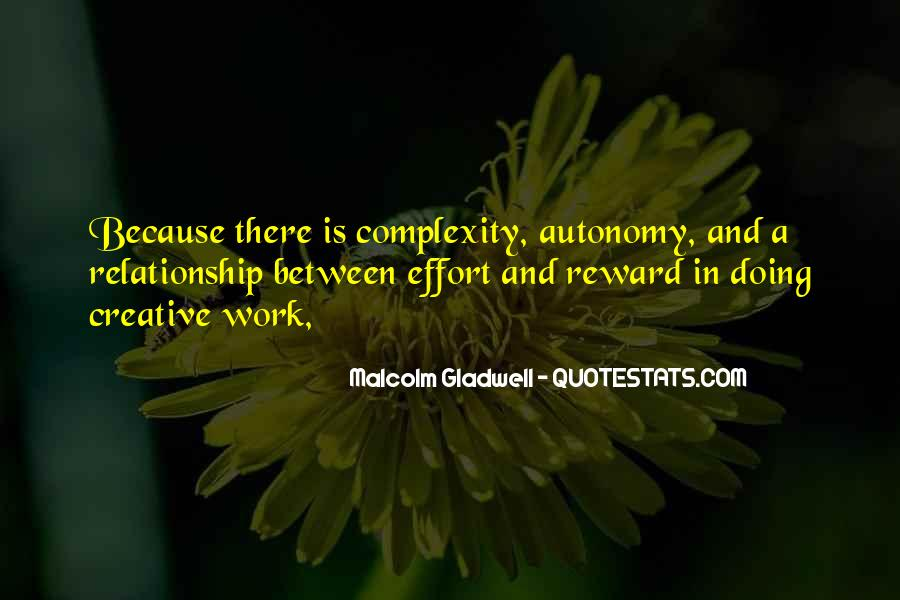 No Reward Without Effort Quotes #459010
