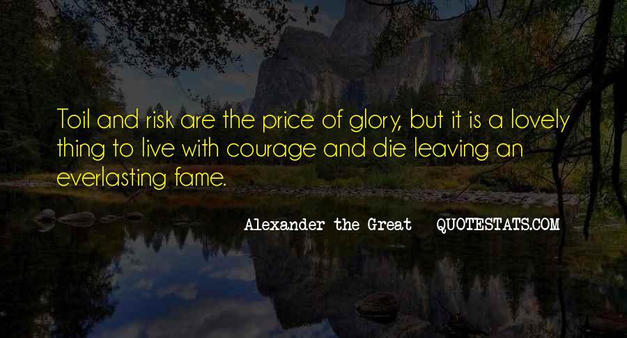 No Risk No Glory Quotes #980650