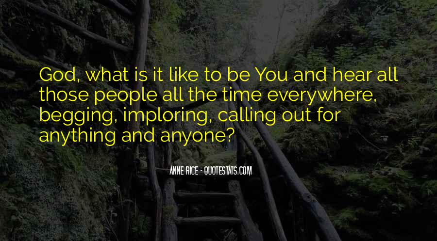 Quotes About Calling People Out #1212195