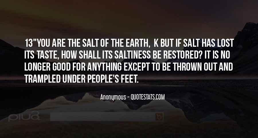 No Salt Quotes #333451
