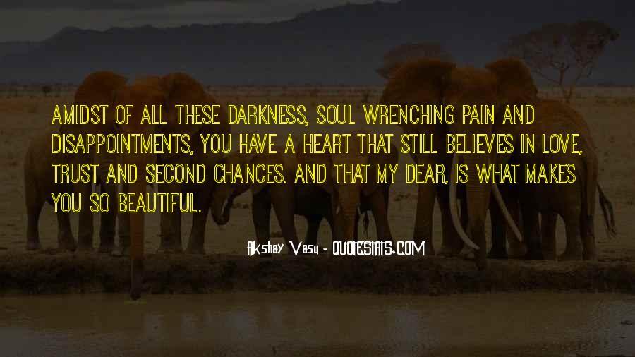 No Second Chances Love Quotes #575946