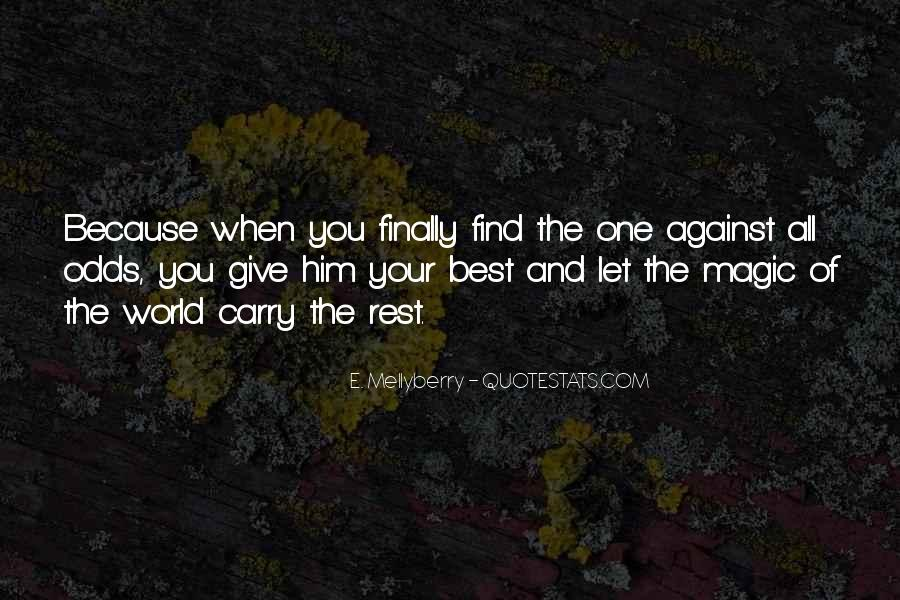 No Second Chances Love Quotes #640419