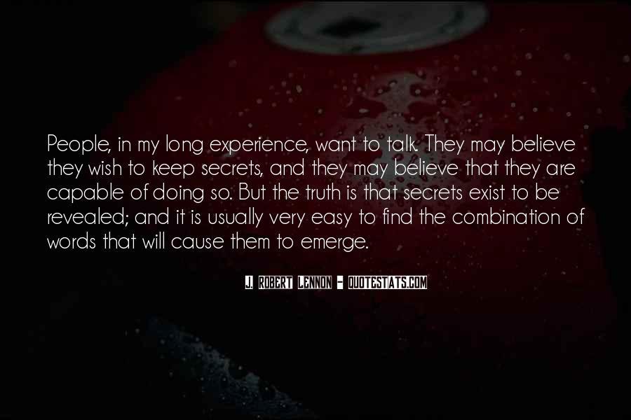 No Secrets Not Revealed Quotes #1337659
