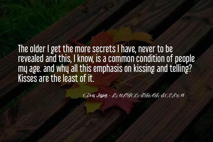 No Secrets Not Revealed Quotes #1513585