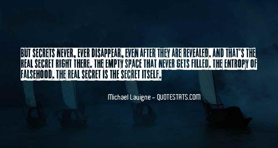 No Secrets Not Revealed Quotes #326175
