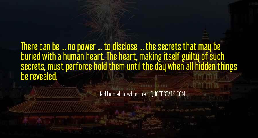 No Secrets Not Revealed Quotes #786584
