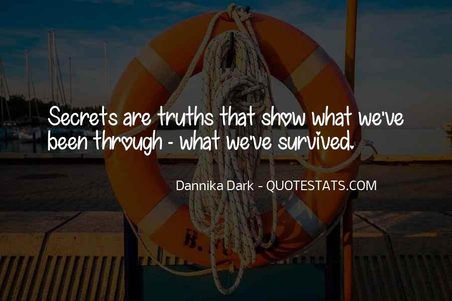 No Secrets Not Revealed Quotes #792037