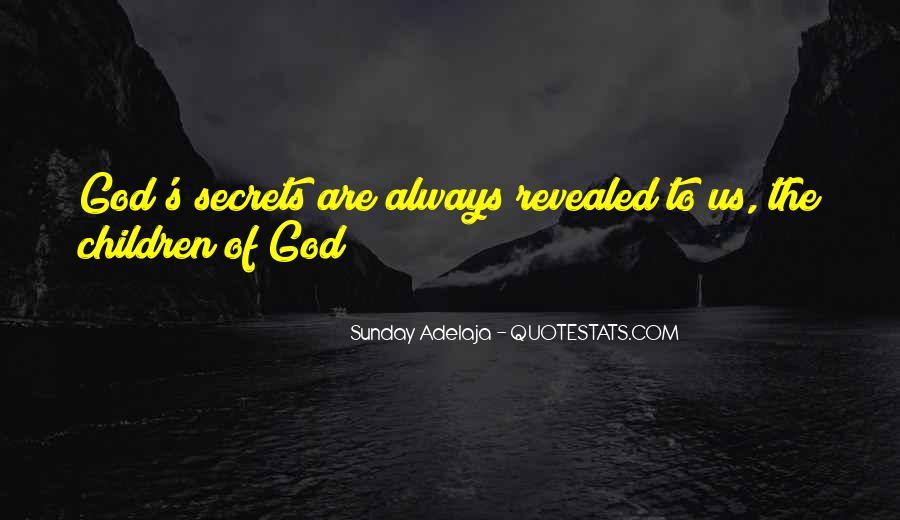 No Secrets Not Revealed Quotes #96648